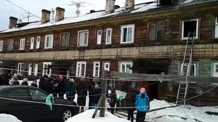 При пожаре на острове Краснофлотском погиб трехлетний мальчик
