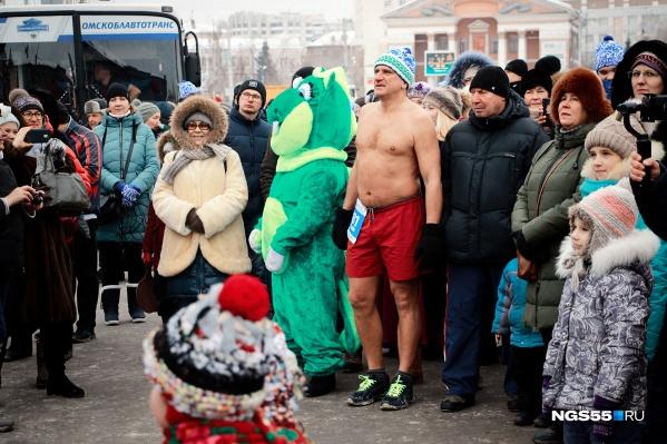 Этот мужчина явно в Сибири рос
