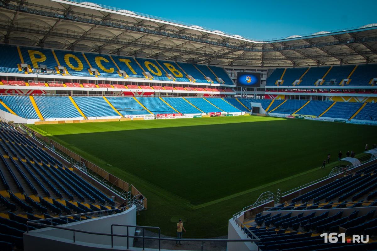 «Ростов» проведет домашние матчи на новоиспеченной арене благодаря вмешательству губернатора области