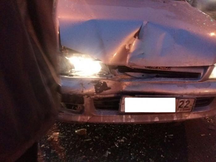 Авария произошла на улице Дуси Ковальчук
