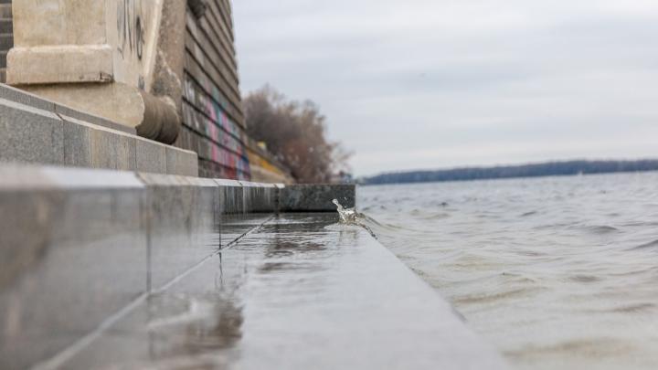 Уровень воды в Волге у Самары достиг рекордного уровня