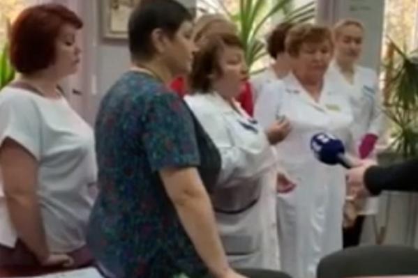 Медики, выступившие против профсоюза «Альянс врачей»