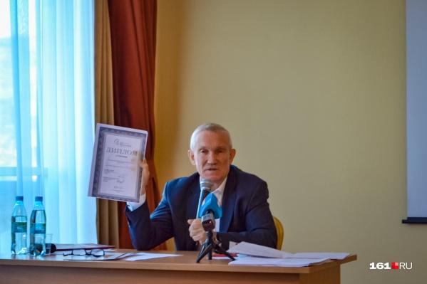 Валерий Буштырев рассказал о проблемах перинатального центра