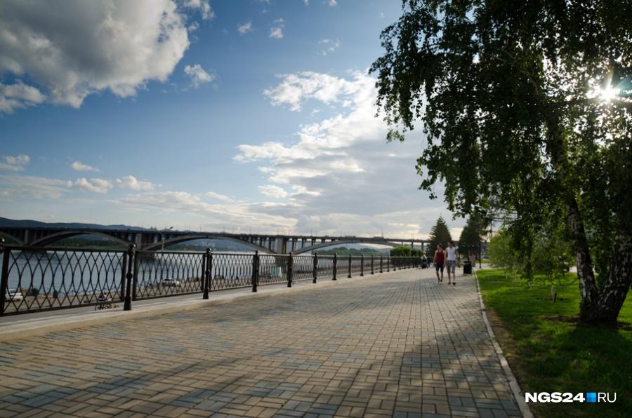 Жара без осадков установилась вКрасноярском крае