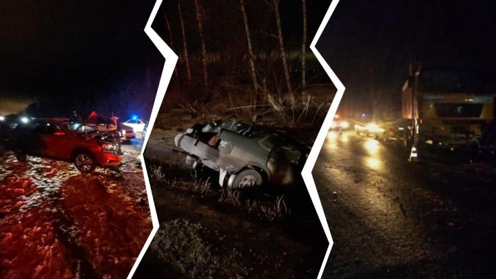 Кто на встречку, кто в кювет: полиция назвала виновника массового ДТП в Самарской области
