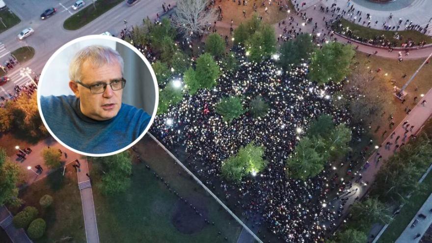 «Они просто хотят сквер и не хотят храм!»: глава рекламного агентства Станислав Черный — о протестах