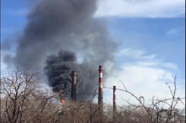 «Пламя высотой 15 метров»: на Челябинском электродном заводе произошёл пожар