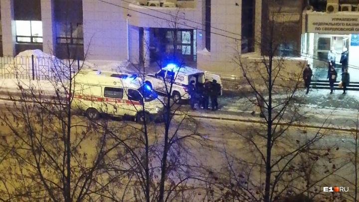 Пьяный мужчина напал на охранника в здании казначейства на Автовокзале