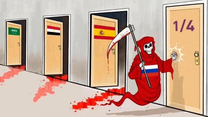«Русские — звери. Себе забили, нашим забили»: как на победу сборной отреагировали в соцсетях