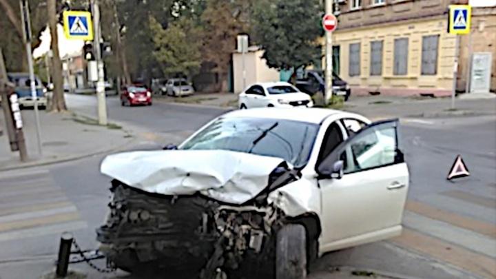 «Заявили, что оба ехали на зеленый»: ростовчанка пострадала в аварии на перекрестке