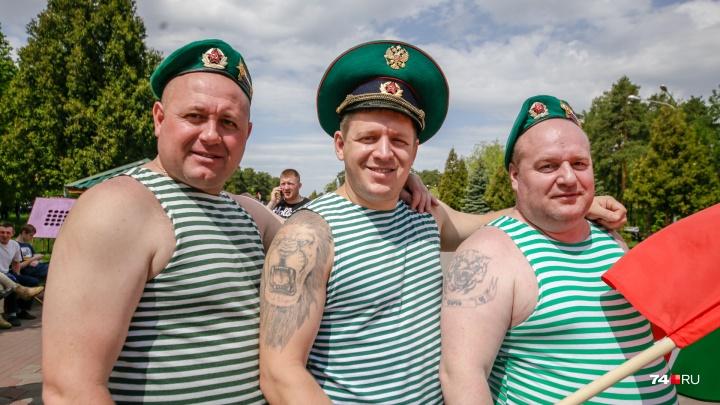 Гуляют «зелёные фуражки»: смотрим, как челябинские пограничники отмечают свой праздник