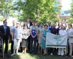 Банк «Уралсиб» провел акцию «Посади дерево»
