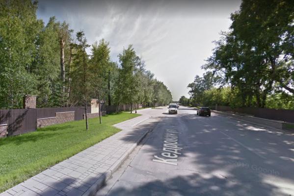 Полицейские ищут очевидцев происшествия на Кедровой