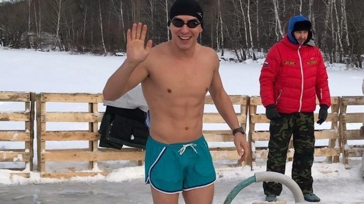 На Шарташе моржи со всей России посостязались за звание самого быстрого пловца