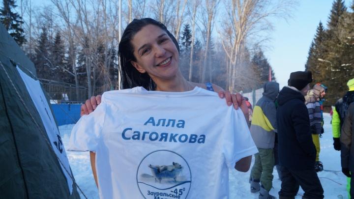 «Главное не замерзнуть»: пять правил моржа из Кургана для безопасного купания в Крещение