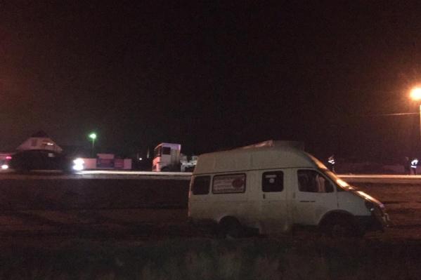 Авария произошла на трассе Волгоград — Элиста