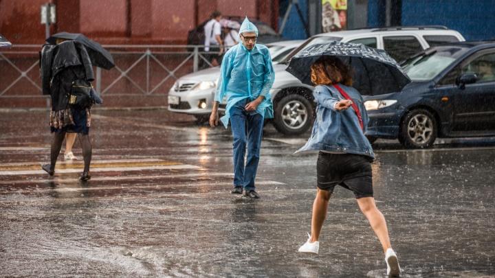 Льёт как при Сталине: дожди в Новосибирске побили рекорд 1952 года
