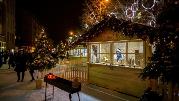 И всё-таки перекроют: мэр Локоть сделает часть улицы Ленина пешеходной на Новый год