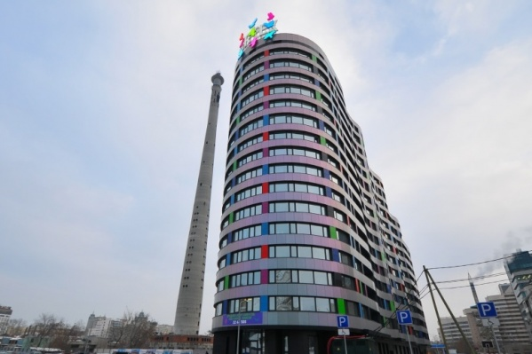 Апартаменты «Артек» —одно из самых близких к телебашне зданий