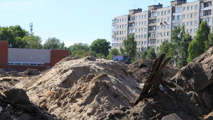 Строительство парка «Зарусье» завершено на семьдесят пять процентов