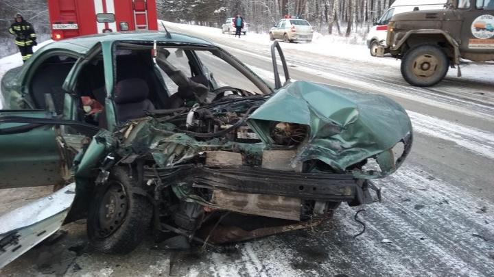 Перелом и ушибы: под колёса попали две бригады врачей, спасавших раненых в ДТП под Челябинском