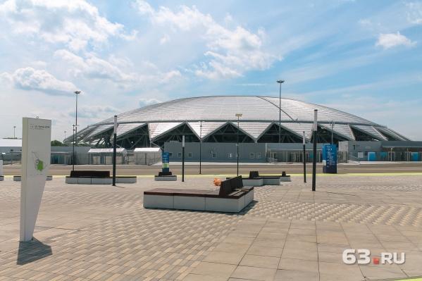 Стадион построили для игр ЧМ-2018