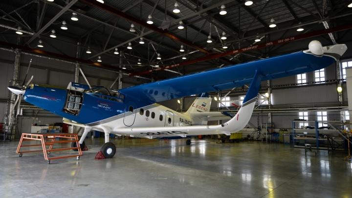 Разработанный в Новосибирске самолёт доработают и отправят в серийное производство