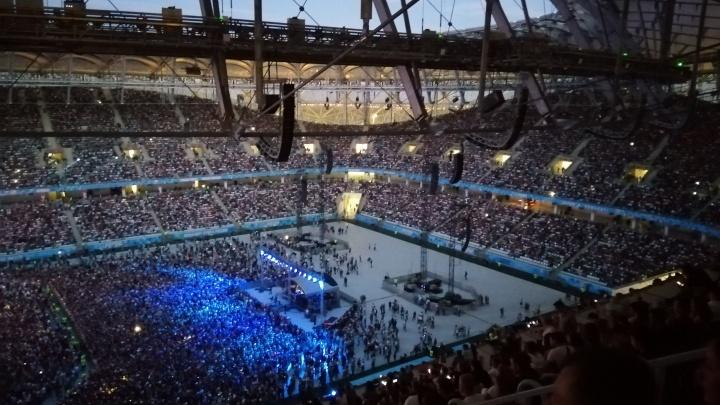 «Ленинграду» не удалось побить рекорд посещаемости на «Волгоград Арене»