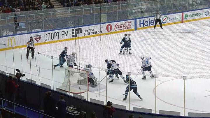 Хоккей: «Сибирь» всухую разгромила команду из Астаны