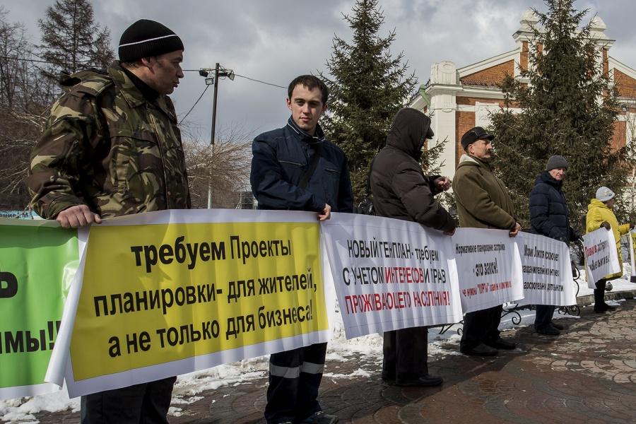 Новосибирцам удалось отстоять спорный участок впойме Ельцовки