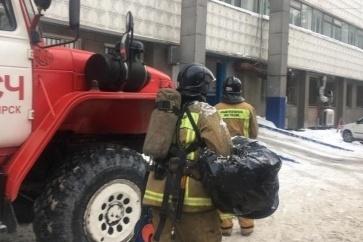 Площадь пожара оказалась совсем небольшой— пострадавших нет
