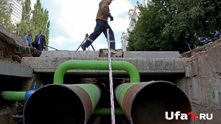 В Уфе из-за замены трубы перекроют движение по нескольким улицам