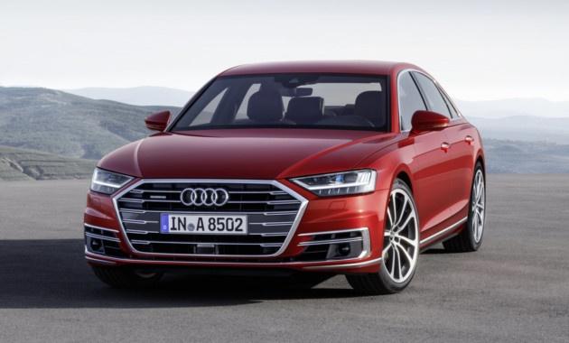 Audi рассекретила новый A8