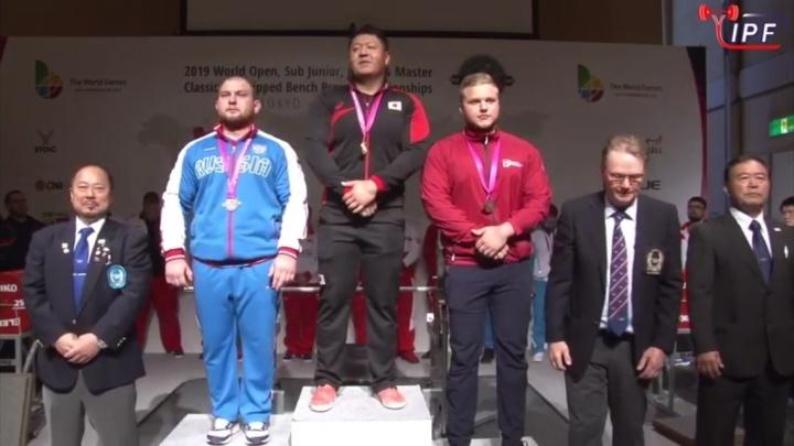 Шадринец Роман Симахин завоевал серебро чемпионата мира по жиму лежа