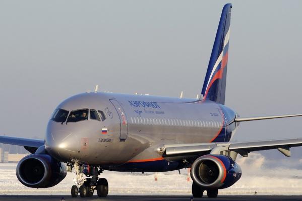 Утренний рейс наSukhoi Superjet был у «Аэрофлота»
