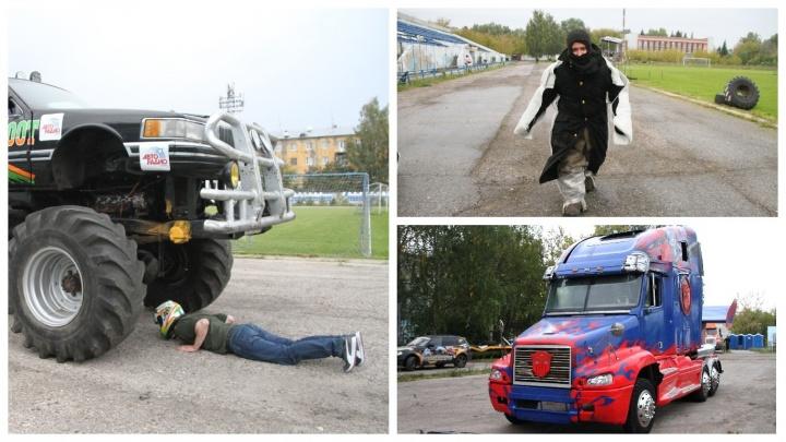 «Крутые парни не смотрят на взрыв»: смотрим закулисье шоу каскадеров, приехавшего в Нижний Новгород