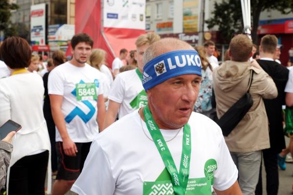 Лесной забег является частью подготовки к Пермскому международному марафону