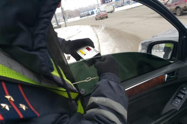 Акция «Тонировка» в Новосибирске будет длиться до 25 марта