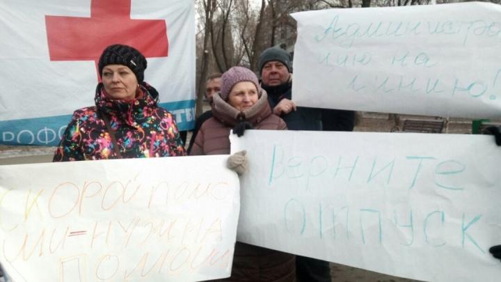 «Мы не расходный материал»: в Самаре водители скорой выступили против перехода в частные руки