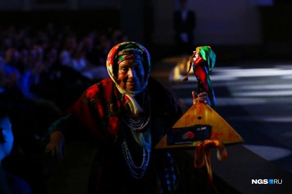 Баба Зоя вручала статуэтку в номинации«Банный комплекс и SPA-центр года»