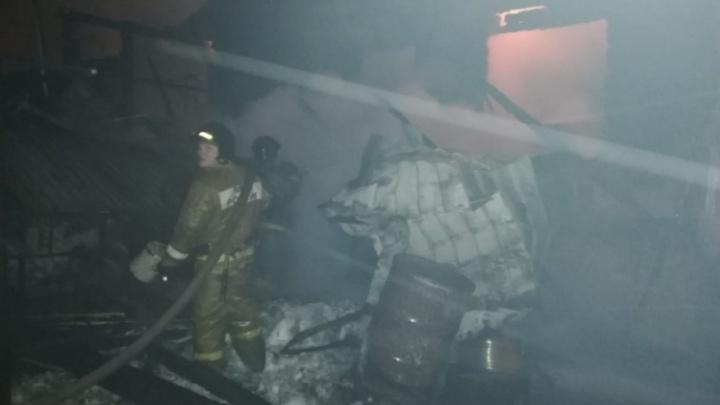 На пожаре в Челябинской области погиб семилетний ребёнок