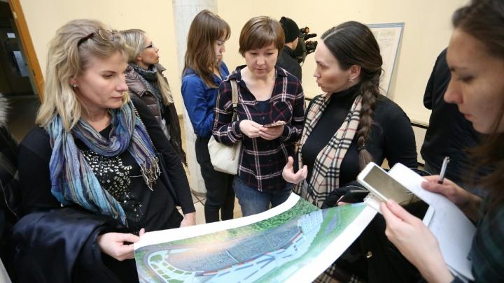 «Аллея» с липами: проект нового торгового комплекса семьи Юревича утвердили на публичных слушаниях