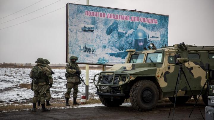 Новосибирские военные начали подготовку к международным армейским играм