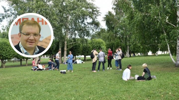 Сквер с храмом — подарок, но без него — тоже подарок: журналист E1 Сергей Панин — о хитром ходе мэра