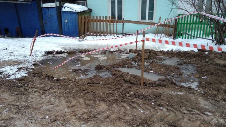 Жители правобережья остались без воды из-за череды аварий на изношенных трубах