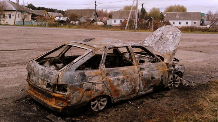 «Она не просто загорелась»: в Ярославской области у тележурналистки сожгли машину