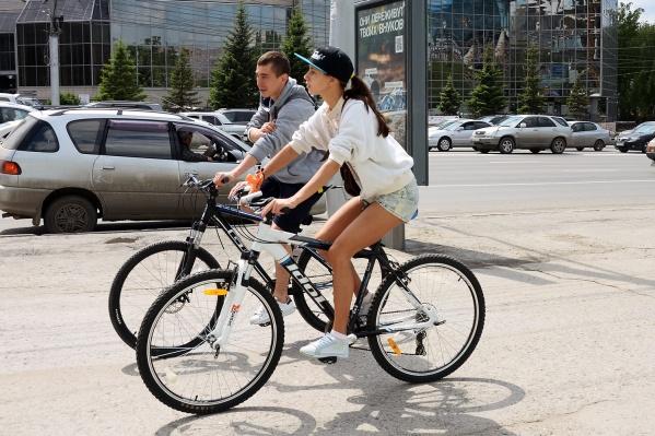 Спрос на велосипеды в Новосибирске увеличился на 42,5%