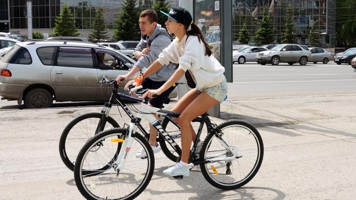 За здоровый образ жизни: в Новосибирске увеличился спрос на велосипеды