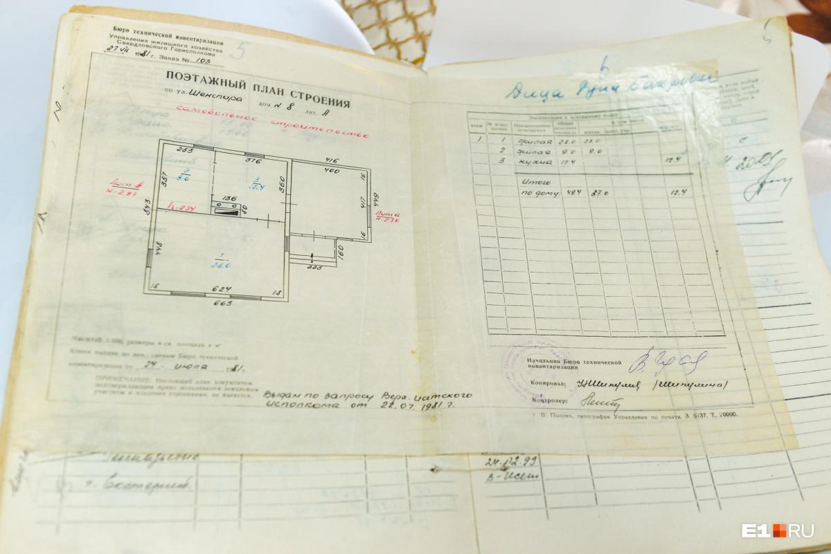 Такую бумагу Петро дали, когда он хотел узаконить дом: еще в 80-е годы