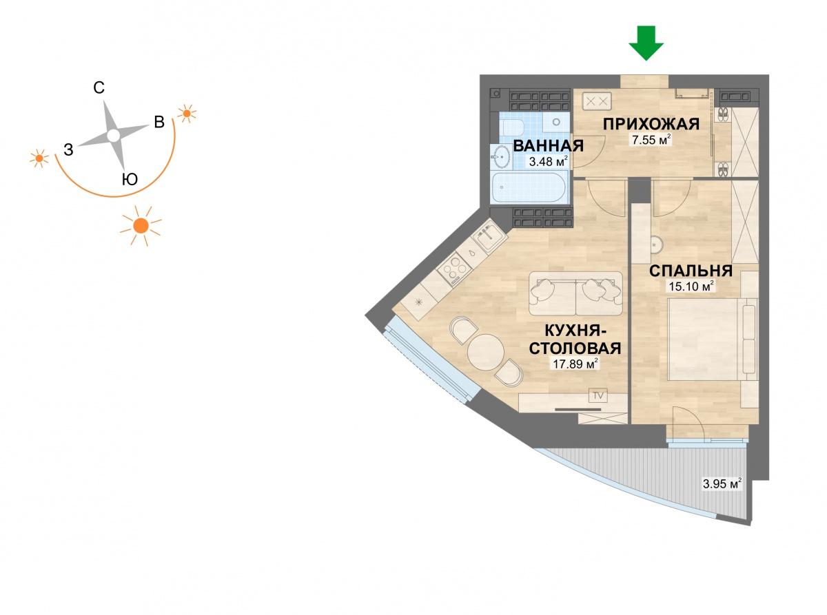 Внимание: «Атомстройкомплекс» открыл продажи нового дома